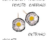 Peyote Earrings - DAISIES - Pattern ONLY without detailed instructions - Instant download