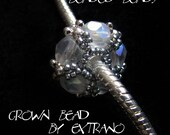 TUTORIAL - beaded bead - CROWN BEAD - immediate download
