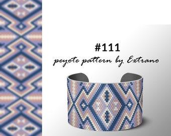 Peyote pattern bracelet, uneven peyote pattern, even peyote stitch, peyote pattern, native jewelry, spiritual jewelry, peyote #111