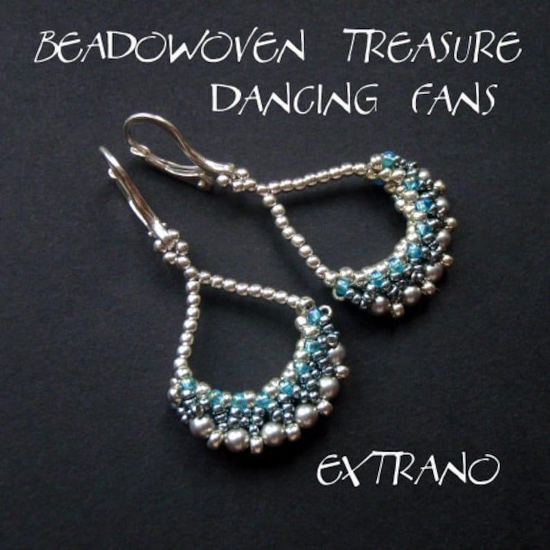 Long earrings tutorial extra long earrings tutorial fan image 0