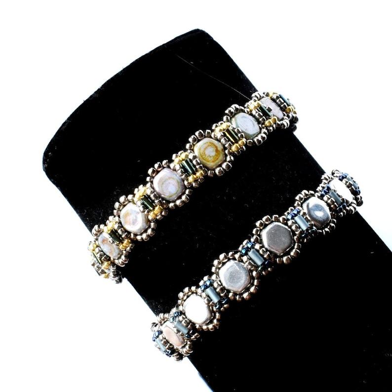 Thin bracelet tutorial beaded thin bracelet jewelry image 0