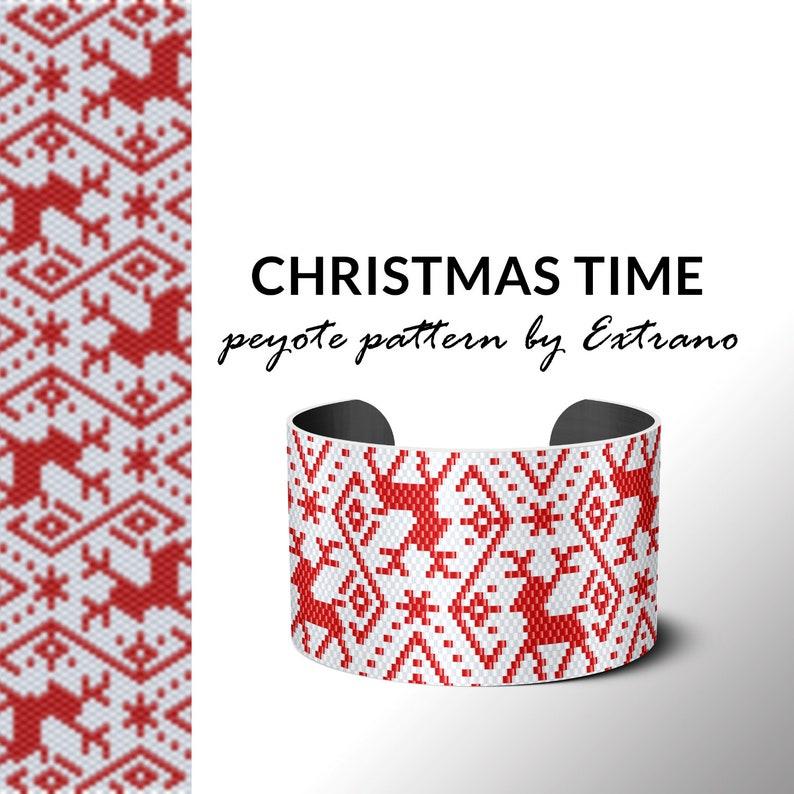 Peyote pattern for bracelet even peyote stitch delica image 0