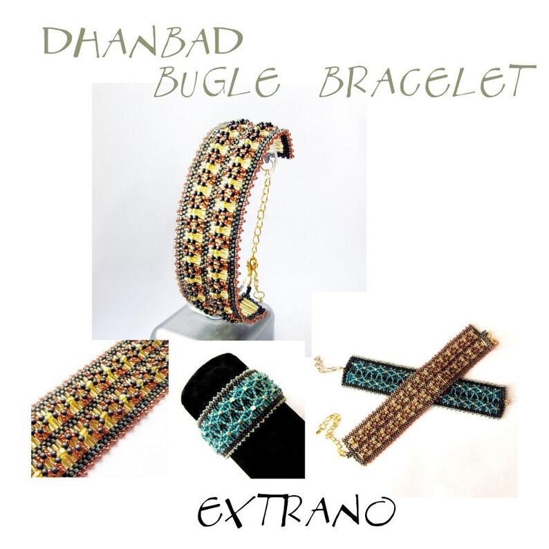 Bracelet tutorial bracelet pattern bugle bracelet bugle image 0