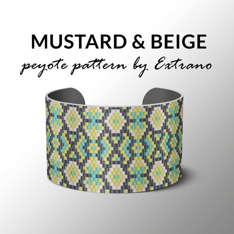 bracelet design odd count peyote stitch pattern pdf image 0