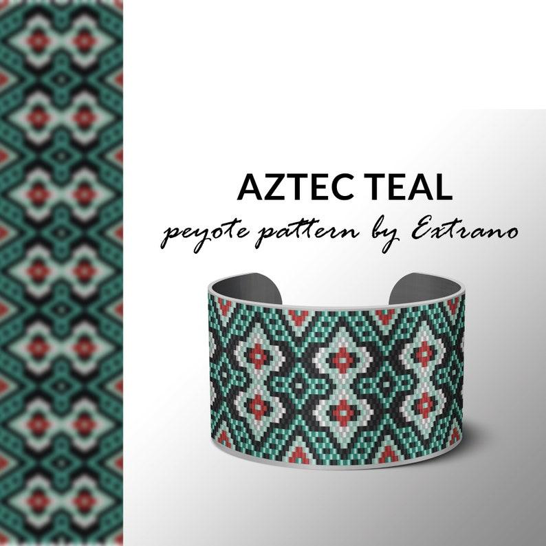 Beading pattern pattern for bracelet peyote pattern peyote image 0
