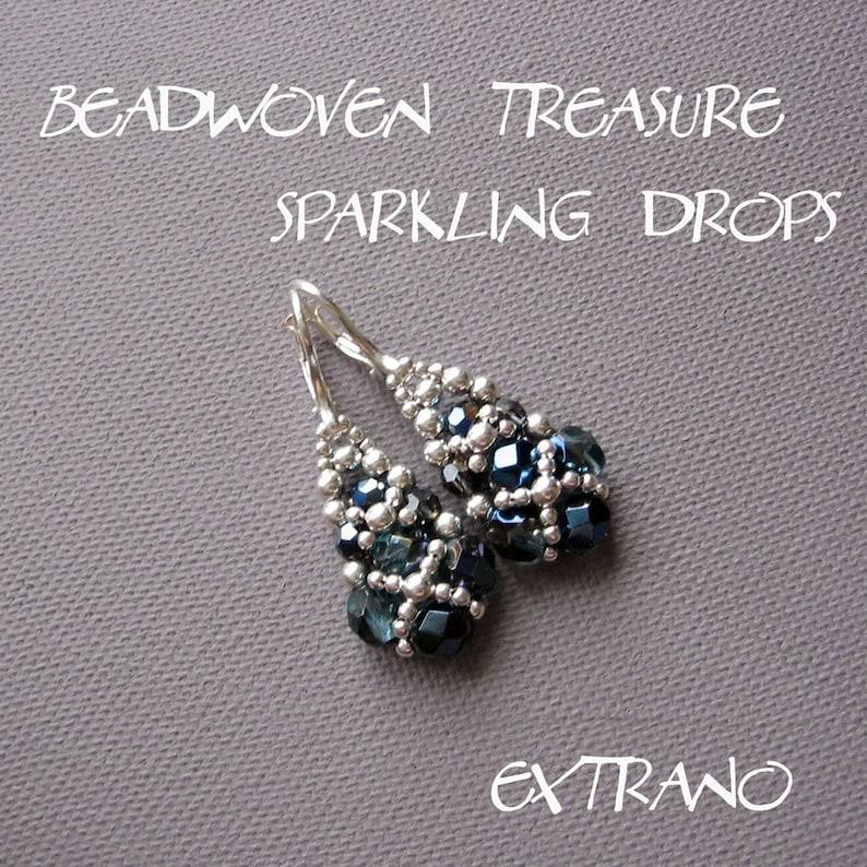 Long earrings tutorial long earrings tutorial beaded image 0