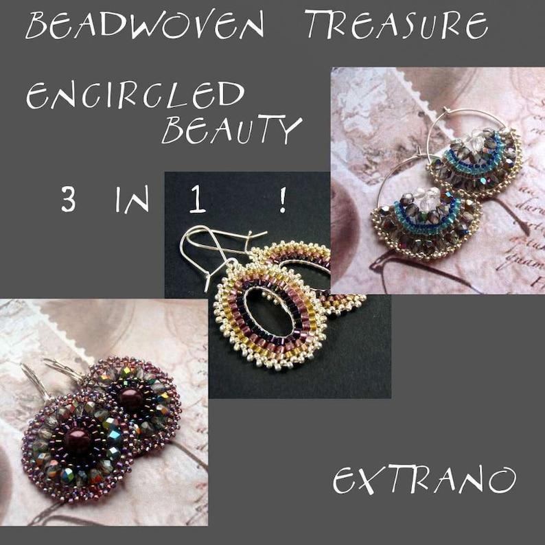 Brick stitch earrings tutorial beaded earrings tutorial seed image 0