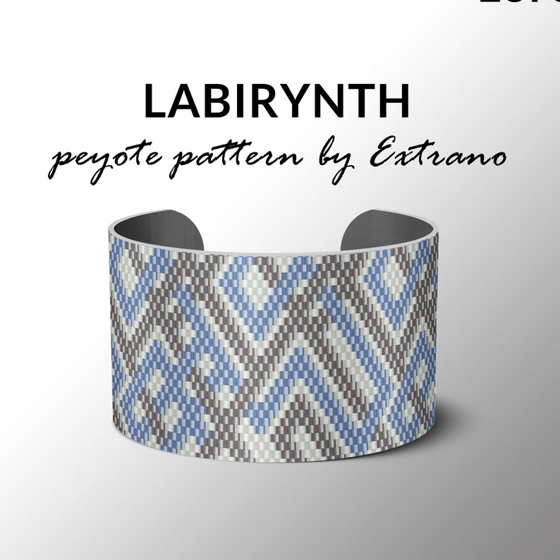 Peyote pattern bracelet pattern peyote bracelet even peyote image 0