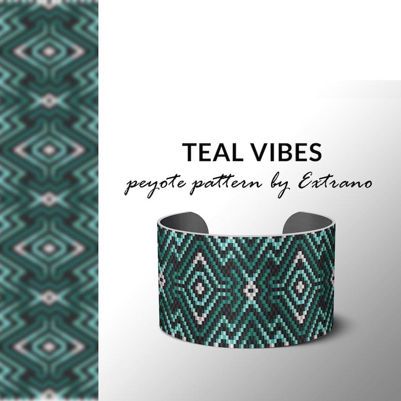 Peyote pattern bracelet uneven peyote pattern even peyote image 0
