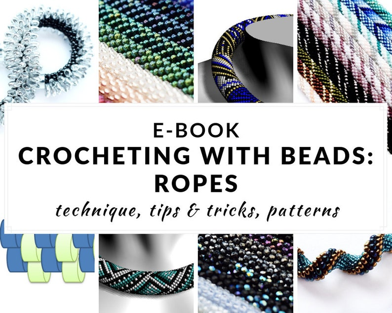 Crocheted bead ropes e-book complete guide to crocheting with image 0