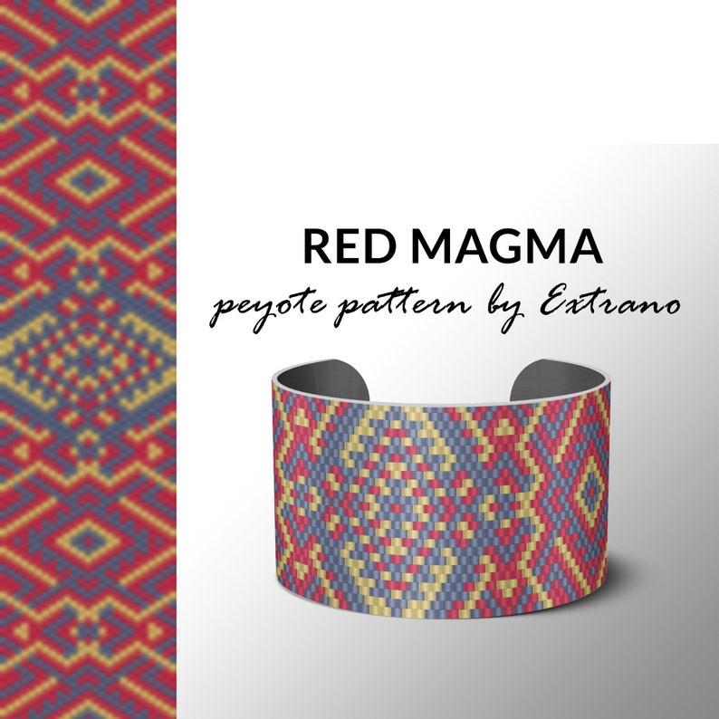 Peyote bracelet pattern native peyote pattern  native image 0