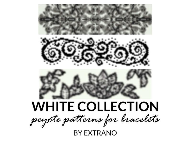 Peyote bracelet patterns even peyote pattern abstract peyote image 0