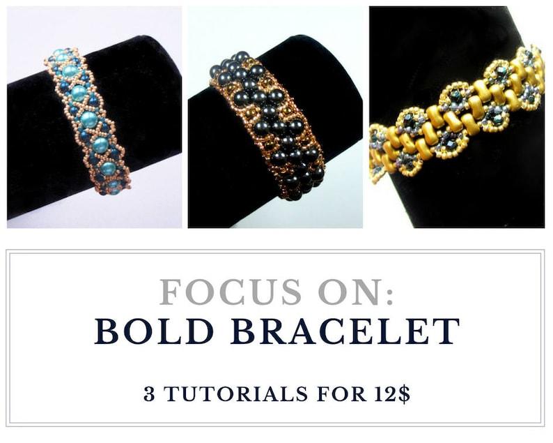 Set of BOLD BRACELET tutorials: Buy 3 for 12.00 usd save and image 0