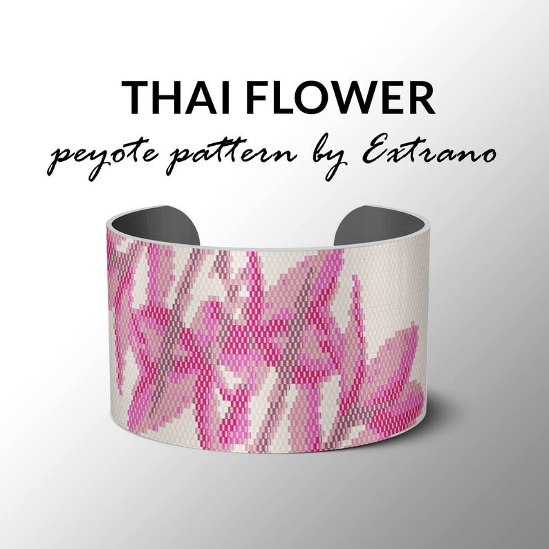 Bracelet peyote pattern peyote bracelet even peyote stitch image 0