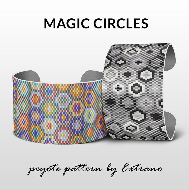 Peyote bracelet pattern peyote patterns for wide bracelets image 0
