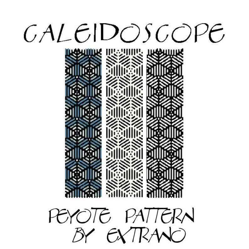 Peyote bracelet pattern beading patternpattern for bracelet image 0
