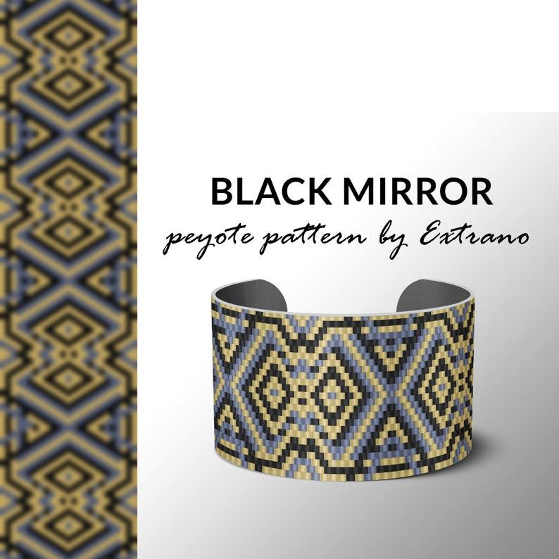 bracelet design odd count peyote pdf pattern bracelet image 0