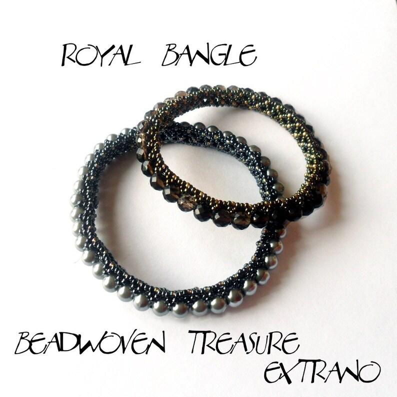 Bracelet tutorial bangle tutorial DIY jewelry bracelet image 0