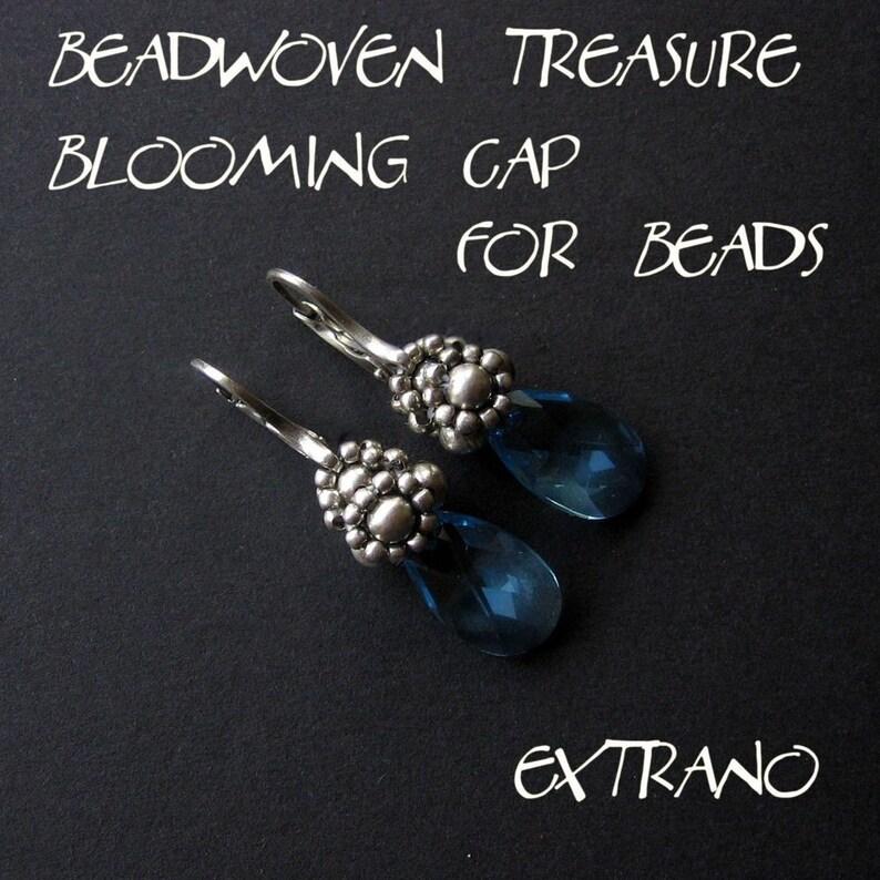 Beaded earrings tutorial long earrings tutorial long image 0
