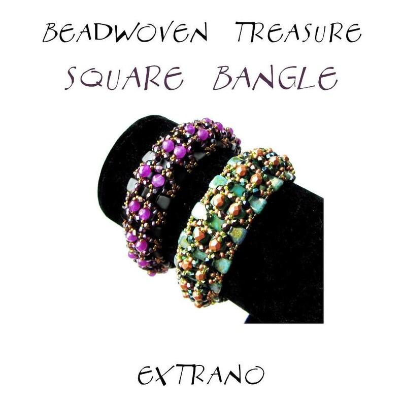 Bracelet tutorial bangle pattern bracelet pattern Tila image 0