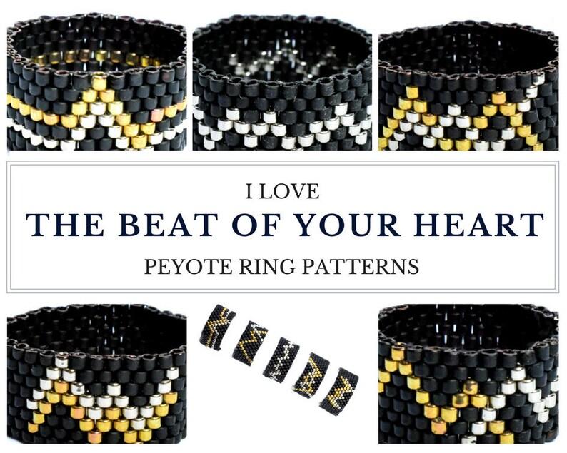 Peyote ring pattern peyote pattern ring pattern peyote image 0
