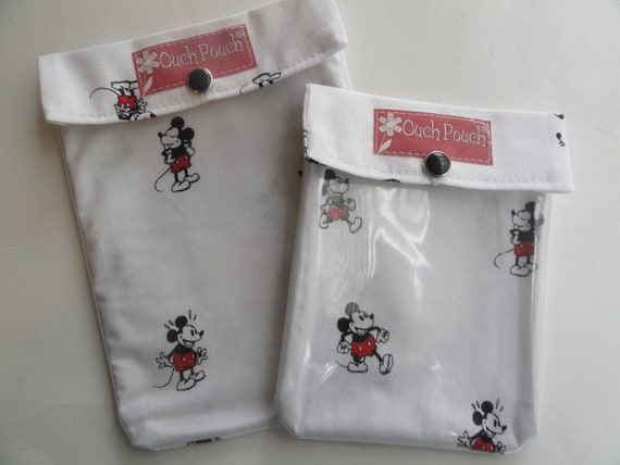 Minnie Mouse 2 Pack Small 4x5 Ouch Pouch Clear Front Bags | Etsy