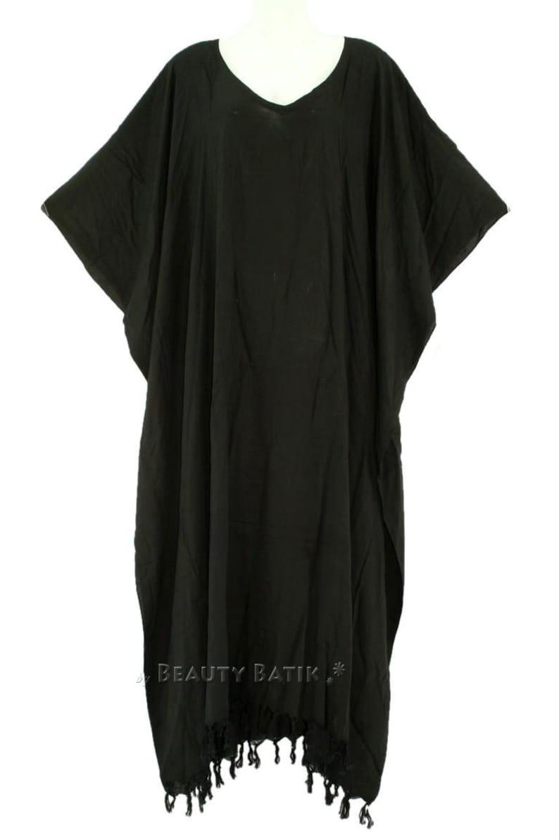 Women Caftan Kaftan Loungewear Maxi Plus Size Long Dress XL 1X 2X 3X 4X