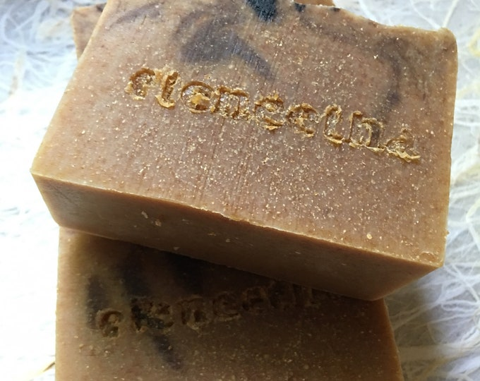 Bitter Almond Manuka Honey Soap with organic coconut milk delicious gourmand