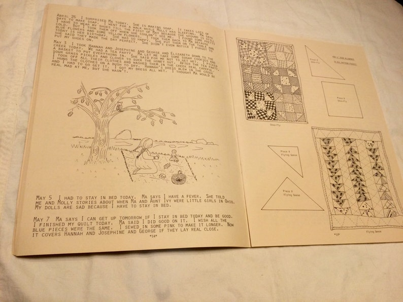 ON SALE! From the Prarie A Child/'s Memories craft book from 1883