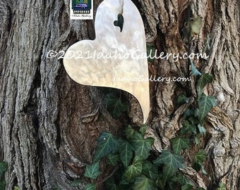 Rustic Heart, Valentines Day Gift, For Her, Wall Art, Barn Art, Swirled Stainless Steel Or Hot Rolled Steel, Love Sign, Tree Art, Home Decor