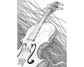 Dragon Fiddle