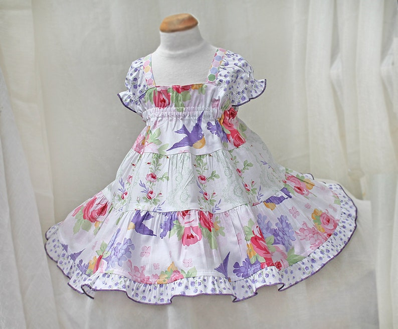 13352f4444b7 Special Occasion Floral Baby Dress Baby Girl Easter Dress 0 3