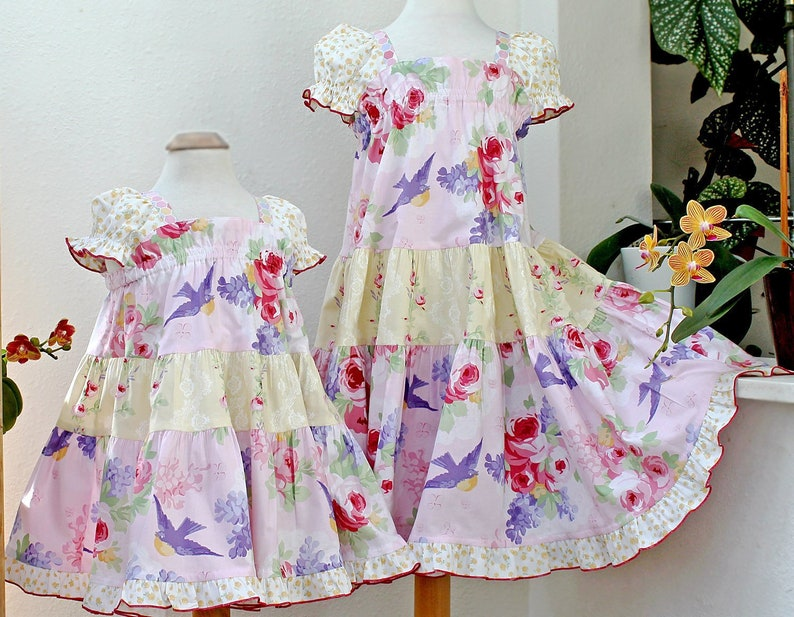 facc43170fe Matching Easter Dress for Sisters Big Little Sister Easter