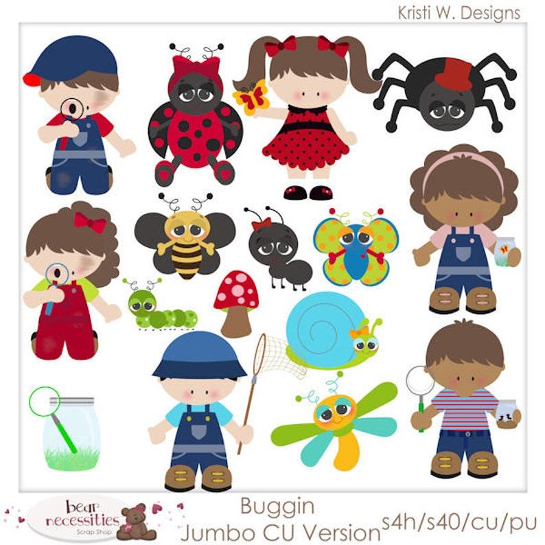 Buggin' Children  Layered Templates by Kristi W Designs image 0