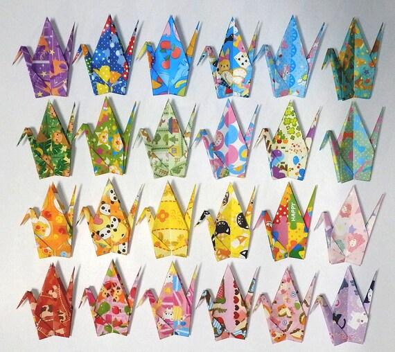 Origami Paper - Geisha Prints - Large 8 1/4