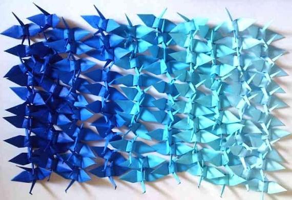 100 Small Origami Cranes Origami Paper Cranes Paper Crane Etsy