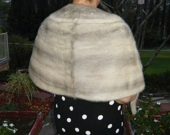 f7e0eab94946 Cerulean Rare Quality Emba Natural Blue Mink - Vintage In Excellent  Condition - Winter Wedding Ready