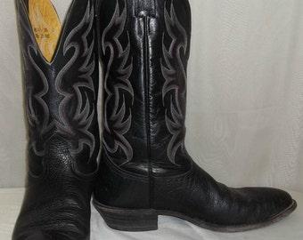 e9461164470 Vintage Mens Rudel Crocodile Leather Cowboy Western Boots 8 E | Etsy