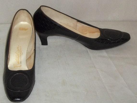 Vintage Naturalizer Shoes Black Patent
