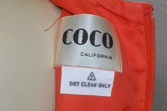 Vintage 1970's Coco California Blouse Maxi Palazz… - image 5