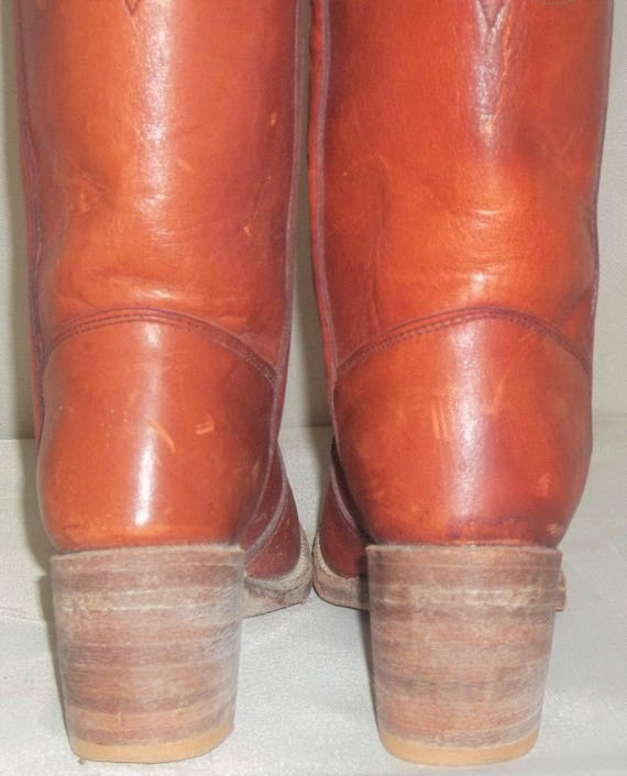 Womens de Cowboy Miss Vintage M BOHO cuir 6 Capezio bottes 1IqaF
