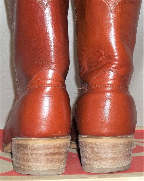 Dingo bottes te 1 bo taille Vintage 2 Western D Cowboy cuir avec homme Acme 10 wE1nTnqz