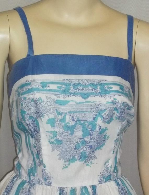 Vintage 1950s 1960s Make Mine McKettrick Sun Dress