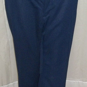 Vintage Mens Relaxables Mod Retro Houndstooth Polyester Pants Slacks 34 x 28 12 Flare