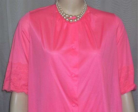 Vintage 1970's Dayglo Neon Hot Pink Henson Kickern