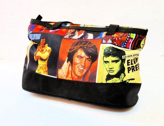 vintage Elvis purse and coin purse, NOS unused, ba