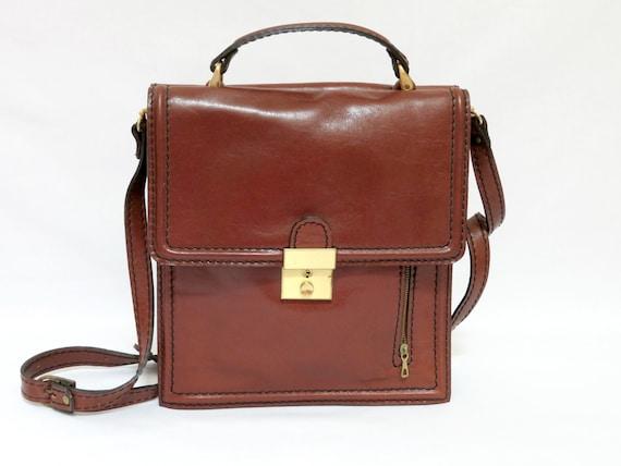 Sudhaus Germany leather bag satchel 883, messenger
