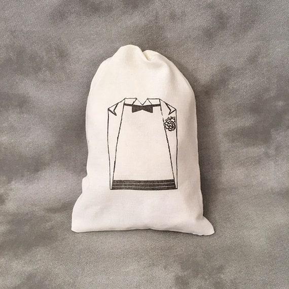 69966cc7 Same Sex Wedding Favors - Same Sex Weddings - Groomsmen Gifts - Bachelor  Party Gifts - Tuxedo Favor Bags - Set of 10 Custom Wedding Bags