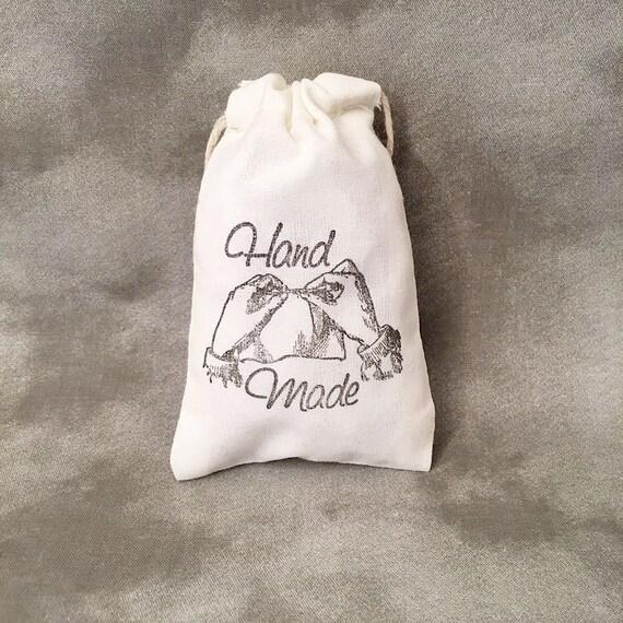 Handmade - Bespoke - Fabric Bags - Set of 10 - Original