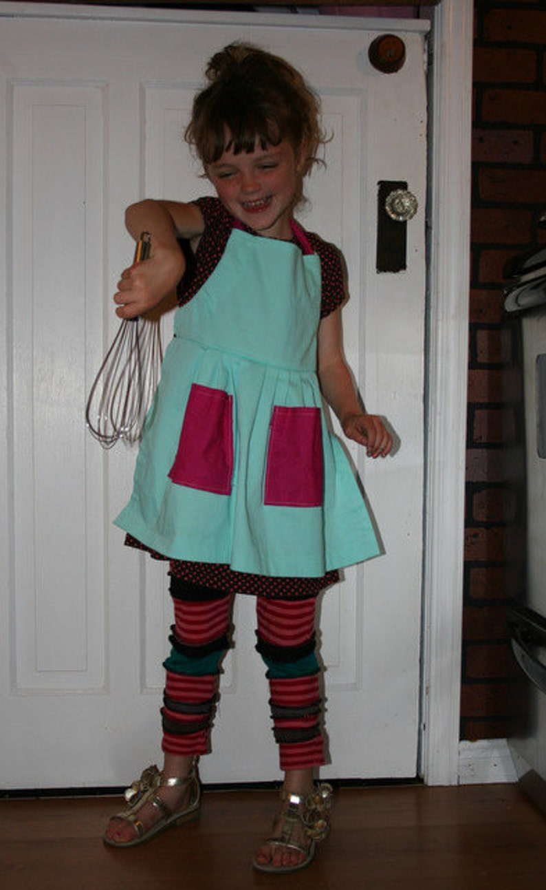 Child Apron for Girls One of a Kind
